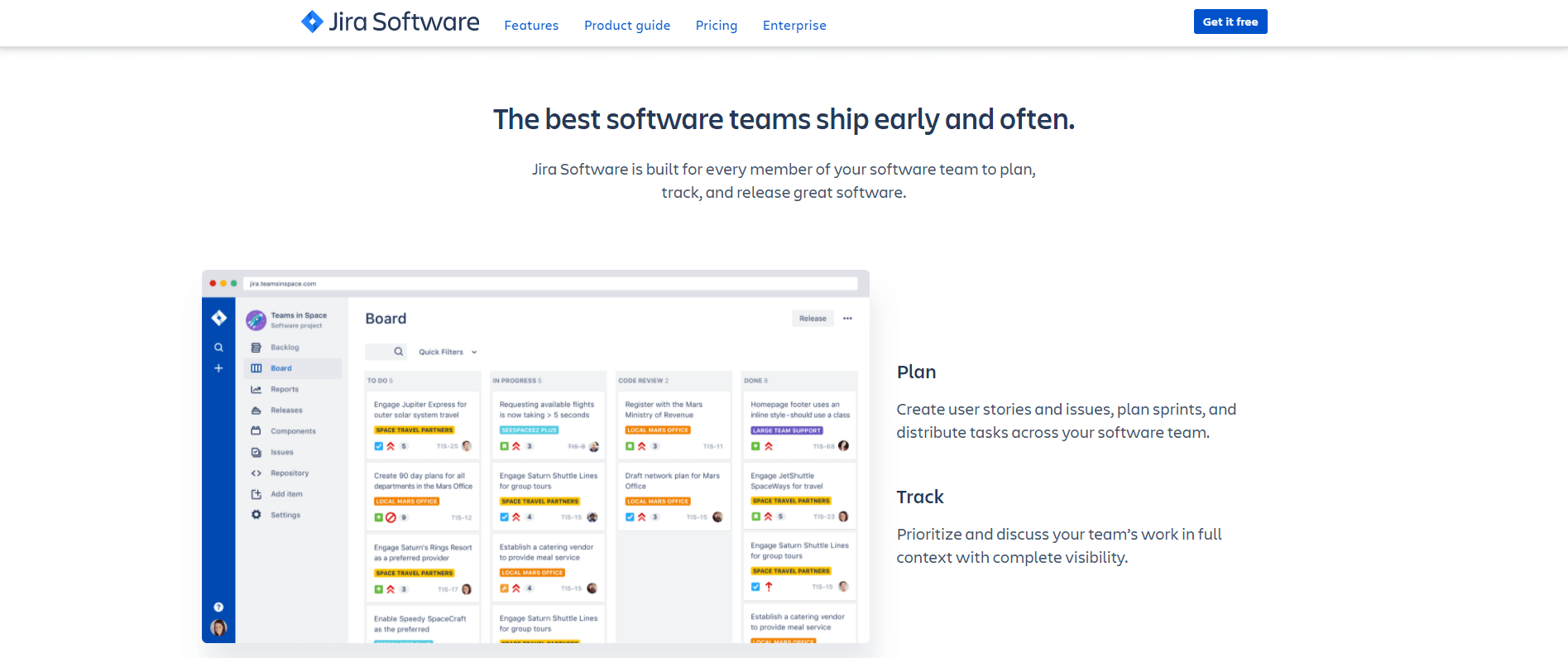 project management software - jira