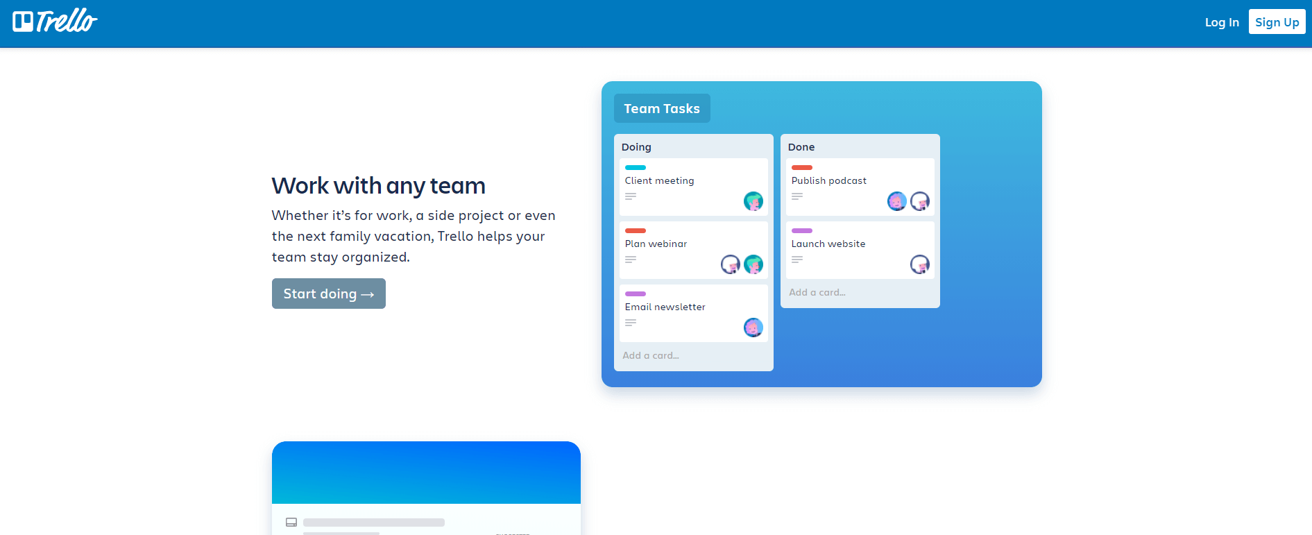 project management software - trello