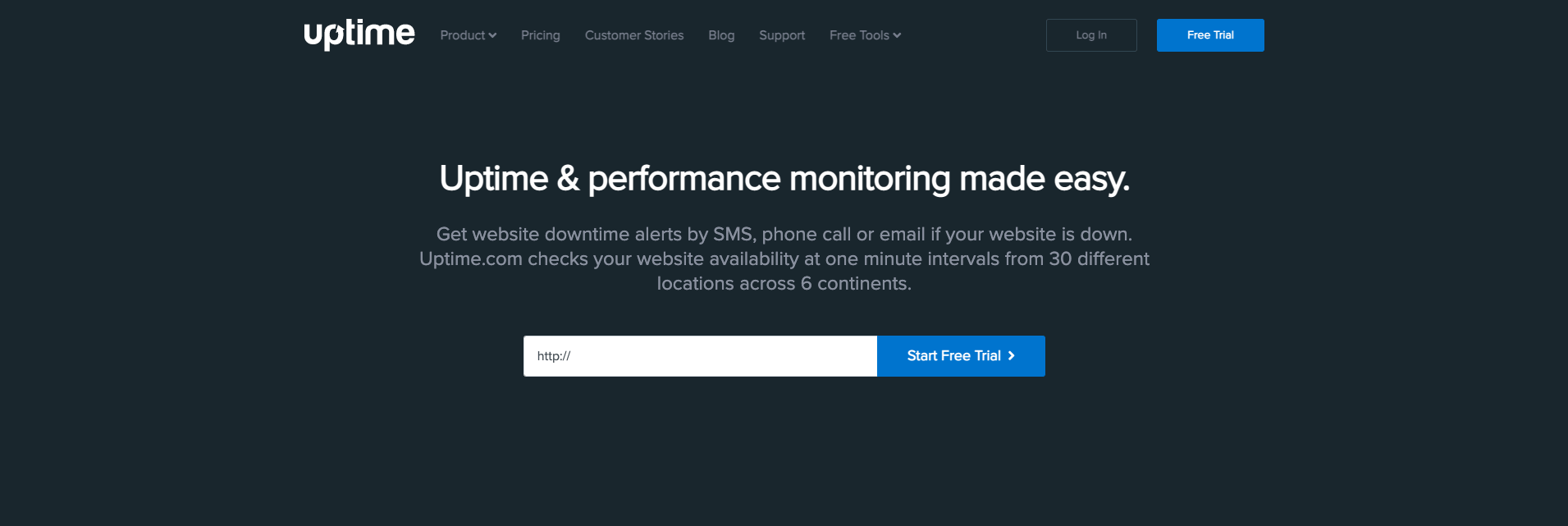 domain monitoring tool - uptime