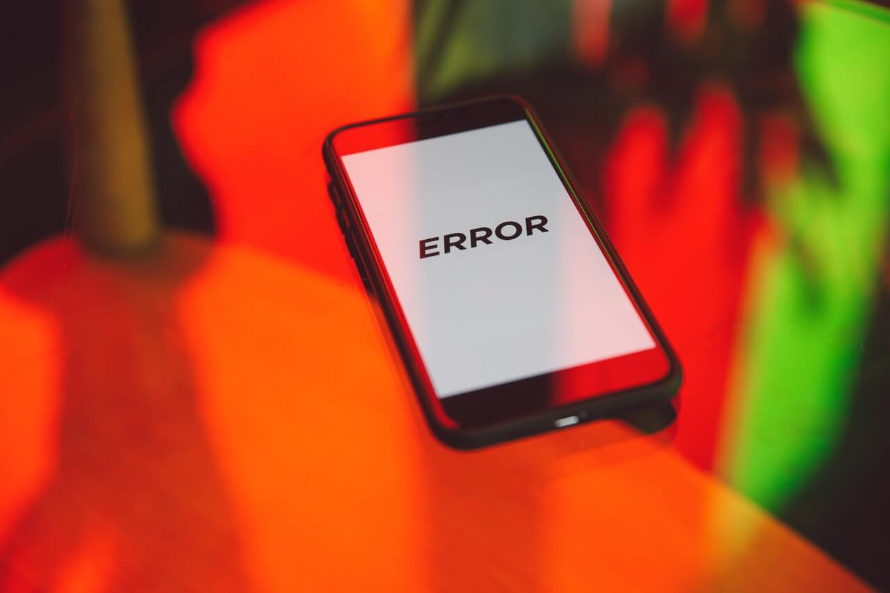 what are the most common error codes