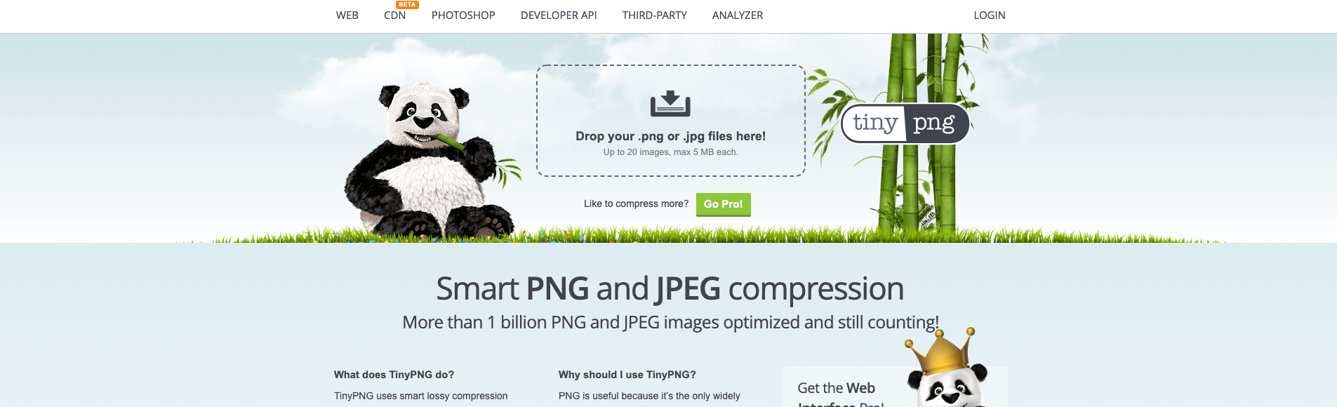 compress your site images and assets